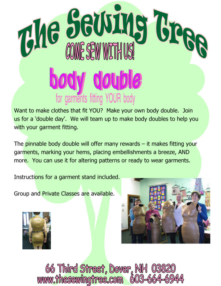 Flyer for Body Double class